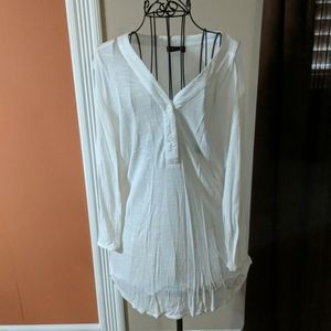 Bathing Suit Cover-up/linen dress